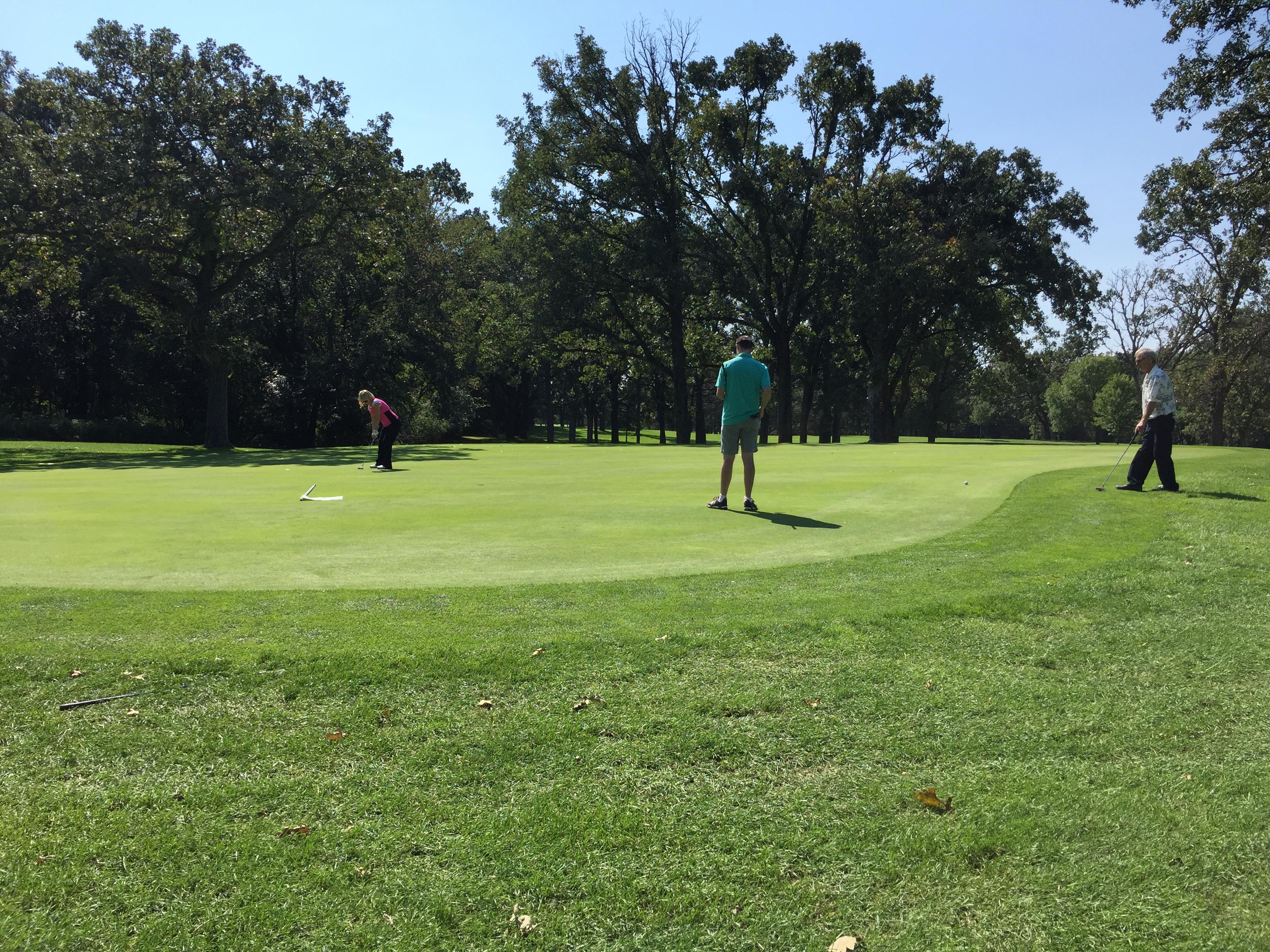 hidden green golf course