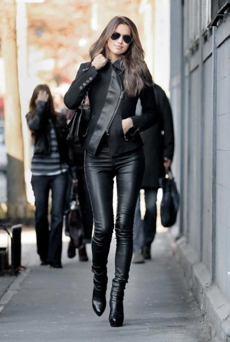 all black wardrobe