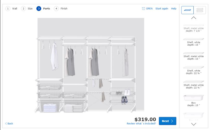 Ikea ALCOT Closet System | everything emelia