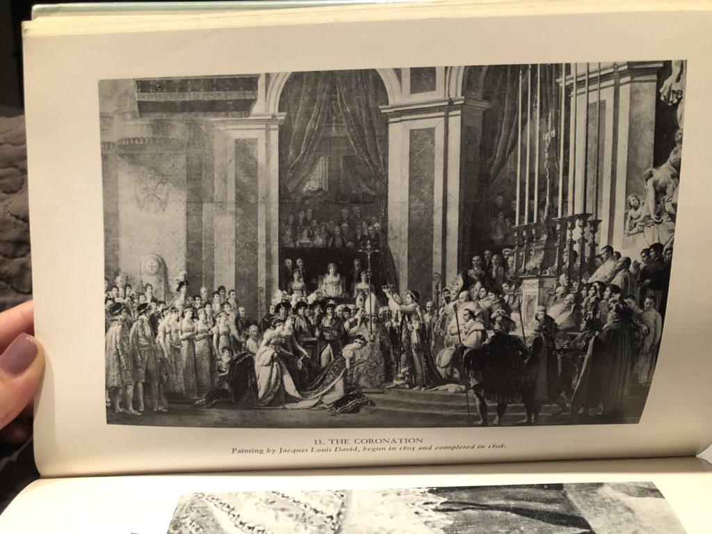 Empress Josephine Book The Coronation Painting