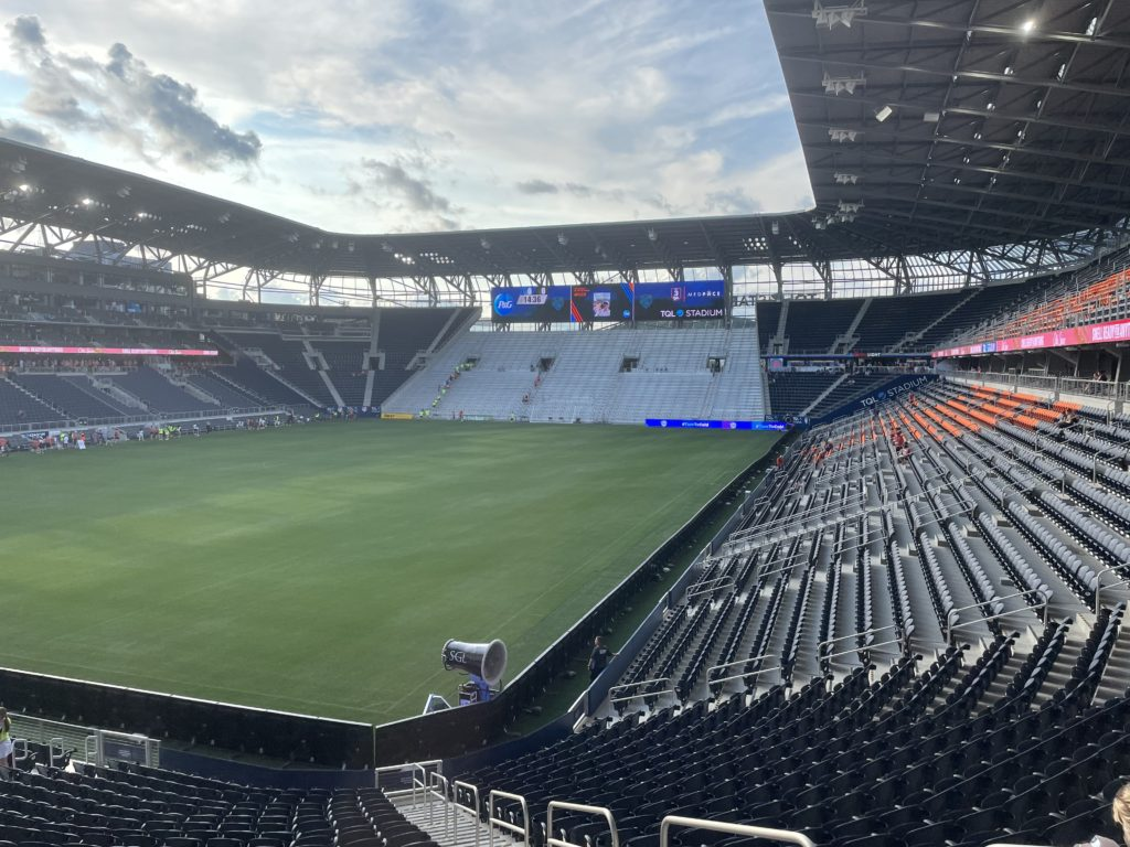 FCC3 2021 inside empty stadium