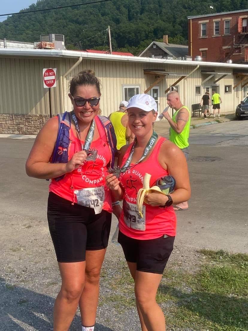 2021 run for the elk half marathon finish line
